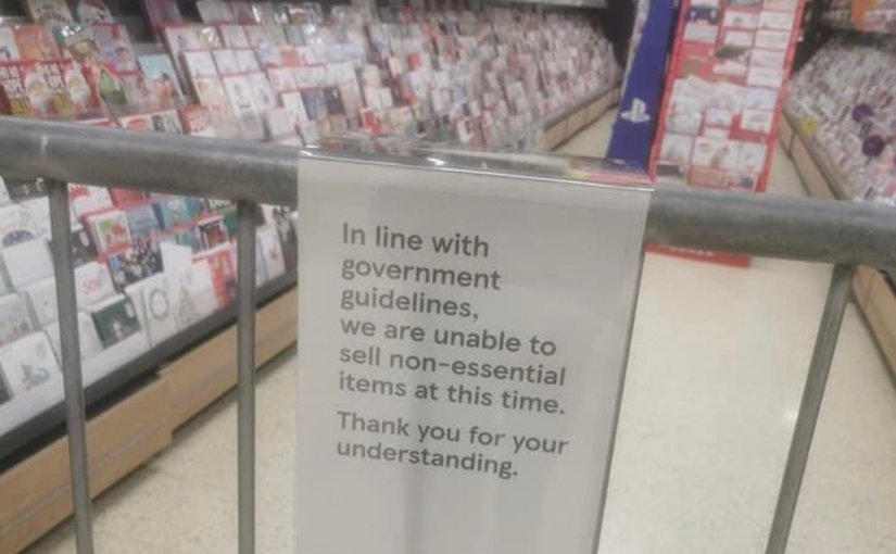 In Pictures: Wales' LockdownSupermarkets