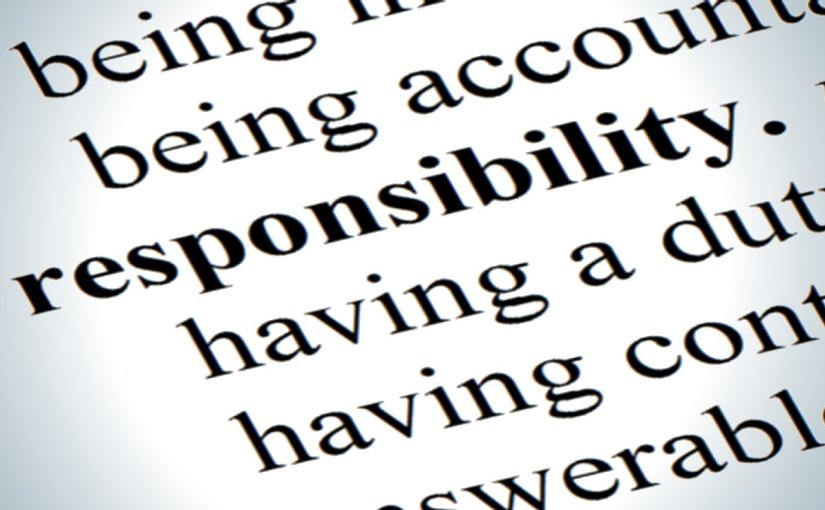 The Death of Self-Responsibility